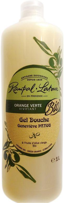 Gel douche orange verte 1L
