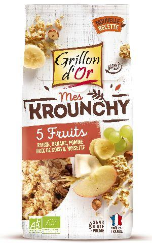 Krounchy 5 fruits 500g