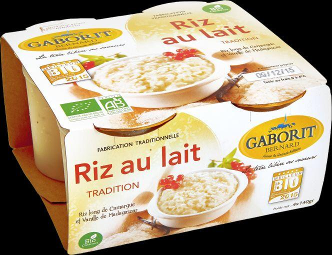 Riz au lait tradition 4x140g